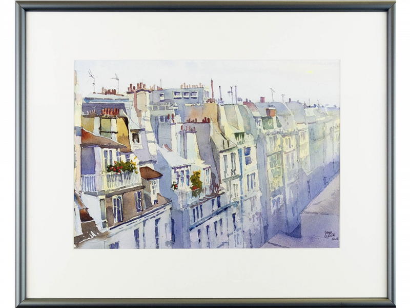 """""""Paris Rooftops"""" by Peter Ulrich"""